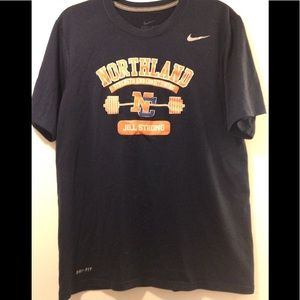 Nike Northland Strength & Conditioning tee